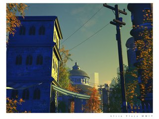 Autumn in the City by alvinylaya