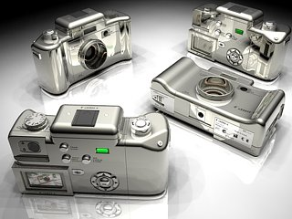Digital camera by stray